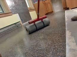 how to lay terrazzo floor tile how