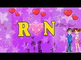 r n letters whatsapp status n r name