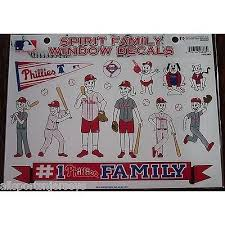 Mlb Philadelphia Phillies Spirit Family Decals Set Of 17 By Rico Indus All Sports N Jerseys