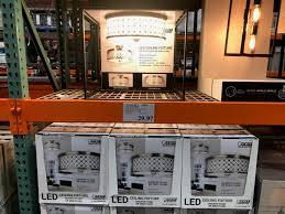 feit electric led semi flushmount