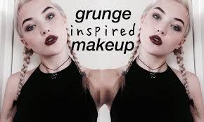 90s grunge makeup makeup