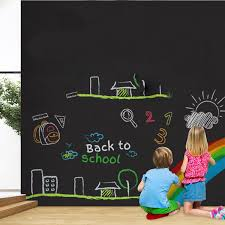 Best Promo 577ed 200x60 Whiteboard Sticker White Board Self Adhesive Writing Memo Board Removable Wall Decal For Office School Home Wall Sticker Cicig Co