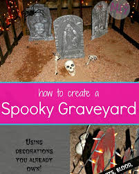 How To Create A Very Spooky Diy Graveyard With Very Little Money Make It Yours With Melissa