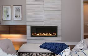 36 inch vent free linear gas fireplace