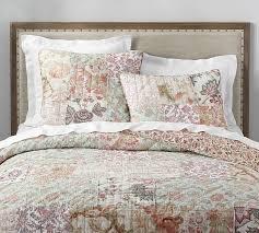 harlowe patchwork quilt sham
