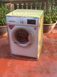 Áo trùm máy giặt cửa ngang ( vải dù )