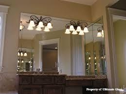 beveled glass mirror for bathroom