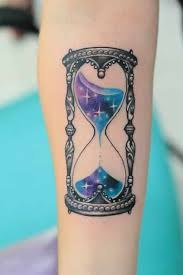 timeless hourglass tattoo designs