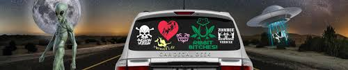 Car Decals Window Stickers Wall Custom Vinyl Decals