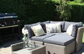 rattan outdoor furniture for gardens