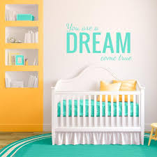 Dream Come True Nursery Wall Decal Wall Decal World