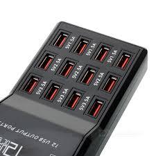 W858 USB 2.0 High Speed 12-Port HUB Power Adapter (EU Plug) - Free ...