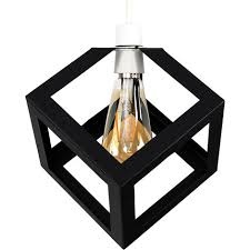 puzzle cube ceiling pendant light shade