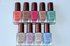 barry m coconut infusion nail paint