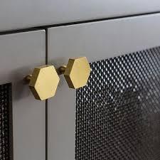 trace br wire mesh door low cabinet