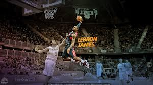 nba lebron james dunk basketball player