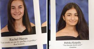 these seniors are finishing their high school years hilarious