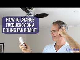 frequency on a ceiling fan remote