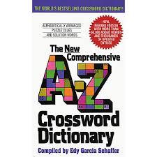 comprehensive a z crossword dictionary