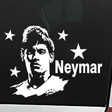 Neymar Football Player Sticker Sports Soccer Car Decal Helmets Kids Room Posters Vinyl Wall Decals Football Sticker Football Sticker Room Posterkids Room Aliexpress