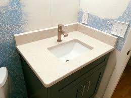 beautiful compact bathroom countertop