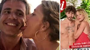 Alessia Marcuzzi e Stefano De Martino, la reazione del marito: