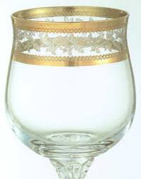 crystal bohemia cristal glasses diana