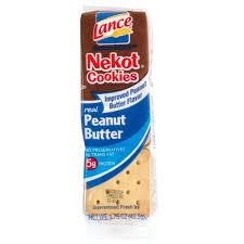 lance nekot vanilla cookie with peanut