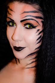 tiger dess makeup a face painting