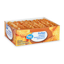 great value potato hash brown patties