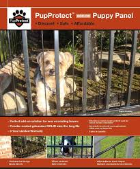 Puppy Panels And Puppy Bars For Iron Or Aluminum Fence