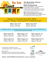 Free Summer Camp To Kids And Families Blue Room Theatre Facebook