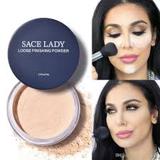 face loose powder matte finish