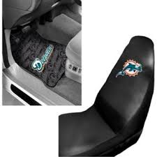 miami dolphins 2 pc front floor mats