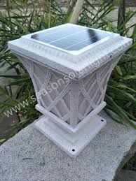 China Factory Supply Bright Led Outdoor Lighting Garden Main Gate Solar Fence Light With Double Led Lights China Solar Light Solar Fence Light