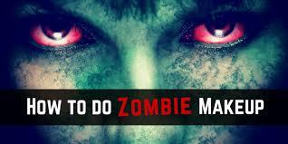 how to do zombie makeup