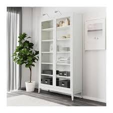regissÖr glass door cabinet white 46