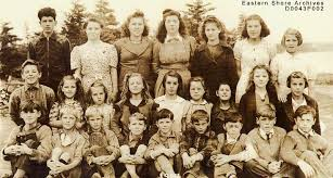 East Jeddore School, 1942 Back row L to... - Eastern Shore ...