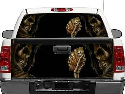 Product Skull Devil Dead Man S Hand Rear Window Or Tailgate Decal Sticker Pick Up Truck Suv Car