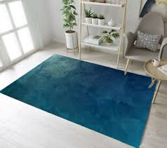Creative Blue Concrete Wall Area Rugs Kids Bedroom Carpet Living Room Floor Mat Ebay