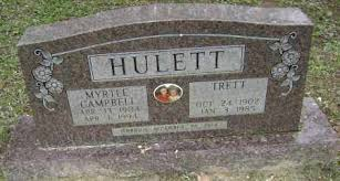 CAMPBELL HULETT, MYRTLE - Sharp County, Arkansas | MYRTLE CAMPBELL ...