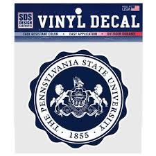 Penn State University Seal 6 Decal Souvenirs Car Accessories Decals