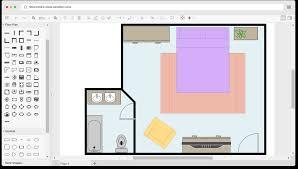 free bedroom floor plan template