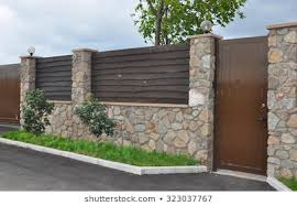 Stone Fence Images Stock Photos Vectors Shutterstock
