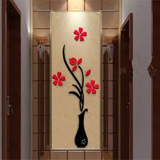 3d Vase Wall Murals For Living Room Bedroom Sofa Backdrop Tv Wall Sticker Sale Price Reviews Gearbest