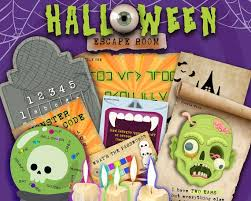 Halloween Escape Room Printable Kit For Kids Fun Halloween Party Game Solve Puzzles And Clues Family Friendly Puzzle Game By Lock Paper Escape Catch My Party