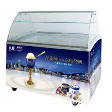 excelente ice cream dipping cabinet