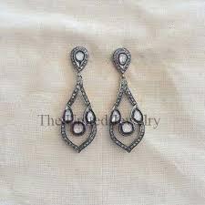 pave diamond 925 sterling silver