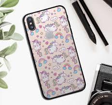Set Of Unicorns Animal Iphone Sticker Tenstickers