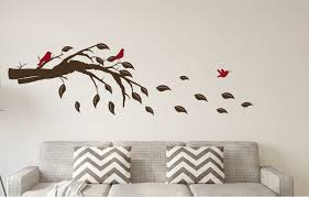 Winston Porter Tree Branch Leaves Birds Vinyl Wall Decal Wayfair